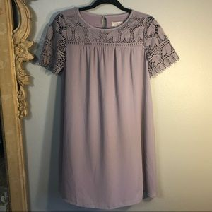 Soft Lavender LOFT Outlet Dress, or Tunic. Fully
